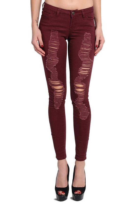 Amazing 23 Beautiful Maroon Pants Women U2013 Playzoa.com