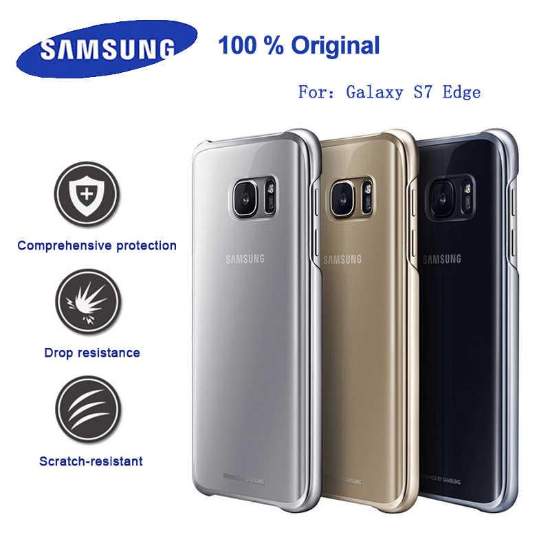 migliore vendita codice promozionale nuovo design 100% Original Samsung Galaxy S7 Edge PC Smartphone case Anti Drop ...
