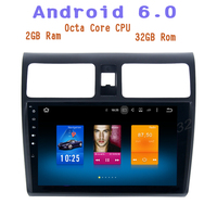 Android 6 0 Octa Core Car Radio Gps For Suzuki Swift 2005 2015 With 2g Ram