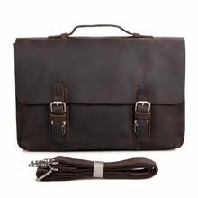 Wirklichen kuh-leder-männer Handtasche Neue Ankunfts-fest Aktentaschen Business Portfolio Männer Messenger Bags 7035-1