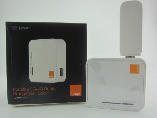(Vente groupée) TP-LINK TL-MR3020 Portable + huawei E3531 3G Modem USB