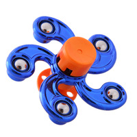 Newest Multi Color Pentagon Gyro Hand Spinner&Finger Spinner Fidget Anxiety Stress Relief Focus Toy Gifts