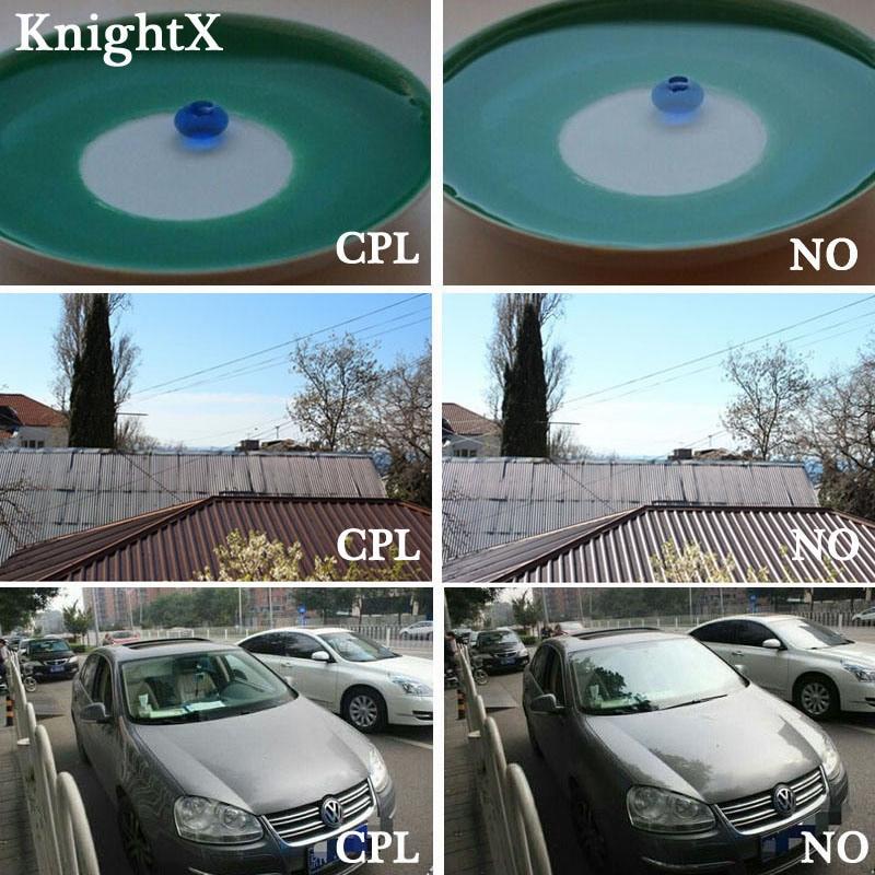 KnightX 52mm 58 67 77mm MM UV CPL FLD Kit de filtro infrarrojo Filtro - Cámara y foto - foto 4