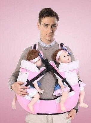 Jumeaux taille tabouret bretelles bébé multifonctionnel porte-bébé type  taille tabouret avant le tabouret enfant 31cb9296311