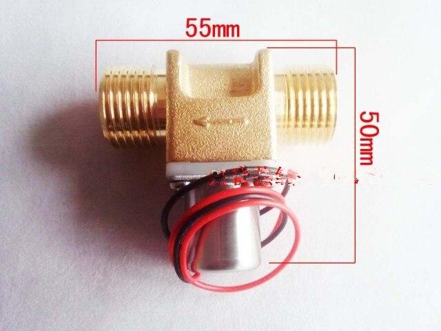 Pilote pulsé électrovanne smart valve de chasse valve d'impulsion faible puissance électrovanne DC3.6V G1/2 purificateur D'eau capteur robinet