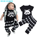 Bear Leader Baby Boys Clothing Sets Baby Girls Boys Fox Cotton Tops T-shirt+Pants Leggings 2pcs Outfits Set Costume Boys Clothes