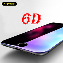 6D Protective Glass for iPhone 6 Screen Protector 6s 8 Plus Phone Tempered on the 7