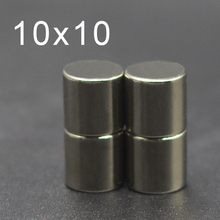 10/20/50/100Pcs 10x10 Neodymium Magnet 10mm x N35 NdFeB Round Super Powerful Strong Permanent Magnetic imanes Disc