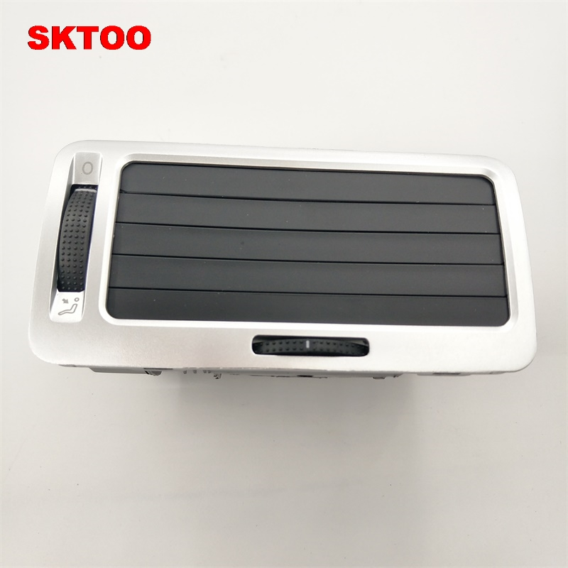 SKTOO  Silver For Bora Golf 4 MK4 Right Passenger Side Air Condition Outlet Vent dashboard 1J1819710BSKTOO  Silver For Bora Golf 4 MK4 Right Passenger Side Air Condition Outlet Vent dashboard 1J1819710B