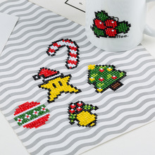 ZOOYA Diamond Painting For Kids Round Sticker Happy New Year Gift Mosaic DIY Embroidery Cartoon Merry Christmas