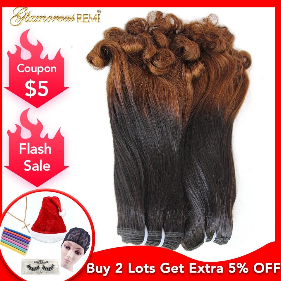 Перуанский бодрый вьющиеся натуральные волосы дважды обращается 3 Связки Фуми локоны Фунми Волосы remy расширение для черный Для женщин Бесп