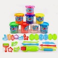 Newly Colourful Modeling Clay Hand-made Plasticine Toy Set 8 Pcs Environmental