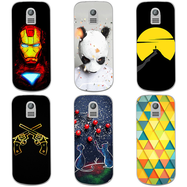 newest 46358 fac3c US $2.48 17% OFF|For Nokia 130 2017 Case Soft Silicone Back Cover Cases  Painting Abstract Soft TPU Coque Cases Patterned Shell Skin-in Fitted Cases  ...