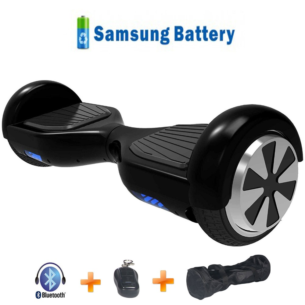 6 colors 6.5 inch Hoverboard electric skateboard two wheels Self balance scooter hover board with carry bluetooth 2017 new 4 wheels electric skateboard scooter 600w with bluetooth remote controller replaceable dual hub motor 30km h for adults