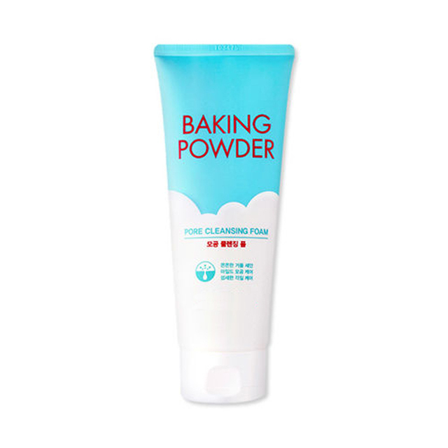 US $19 75 | Baking Powder Pore Cleansing Foam 160ml Facial Cleanser Shrink  Pore Skin Care Deep Clean Scrub Whitening Skin Korean Cosmetics-in