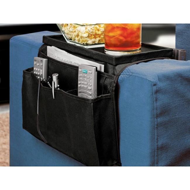 Bag Storage 6 Pockets Sofa Handrail Couch Armrest Arm Rest Organizer Remote Control Holder Bag On