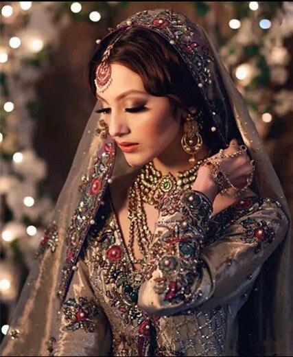 Colored Handmade Style Shawl Scarf Indian Style Sari Embroidery Goddess Wedding Garment Headdress Women High Quality Shawl Scarf