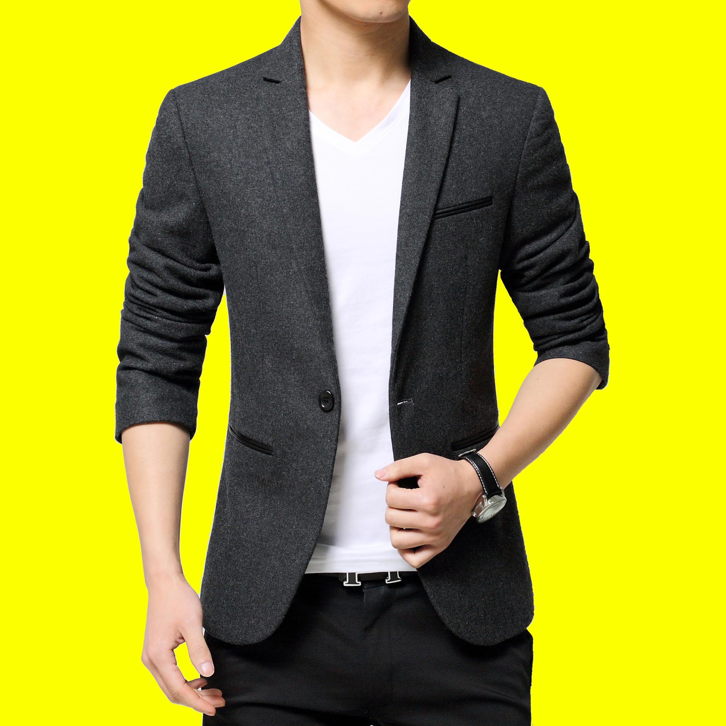 2020 Male Fashion Cloth Suits, Cultivate One's Morality The New Handsome Leisure Suit HO