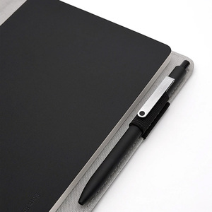 Image 2 - Smart Home Kaco Noble Paper NoteBook PU Leather Card Slot Wallet Book for Office Travel with a Gift