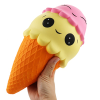 25cm Giant Squishy Ice Cream Super Slow Rising Toy Squishy Soft Scented Food Stress Relief Squeeze Toys Decors Gift