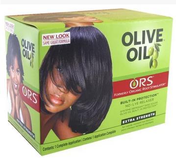ORS Olive Oil Built-In Protection No-Lye Hair Relaxer plia relaxer молекулярное выпрямление волос plia