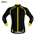 WOSAWE 2016 Fleece Thermal Jacket Jersey Long Sleeve Mountain Bike Bicycle Clothing Mtb Jerseys Shirts Men Women