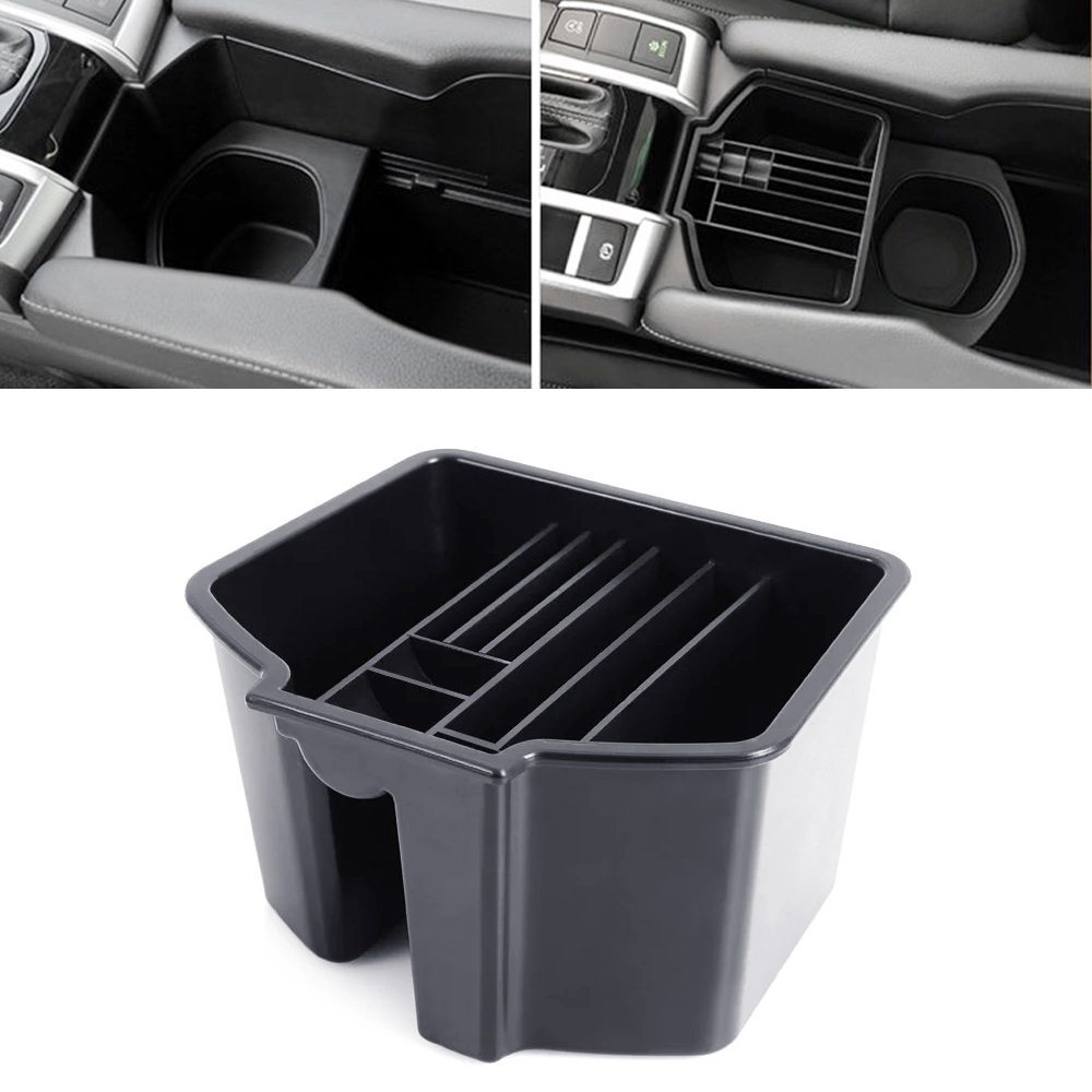 JEAZEA New Car Styling Central Armrest Storage Box Tray Storage Holder For Honda For Civic 10th 2016 2017 2018 jeazea new car styling central armrest storage box tray storage holder for honda for civic 10th 2016 2017 2018