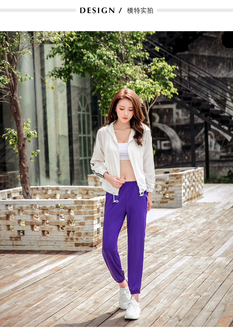 2018 Autumn winter women training set mesh coats+bra+pants quick dry fitness gym yoga 3 pieces sets outdoor sportswear clothing-in Yoga Sets from Sports & Entertainment    2