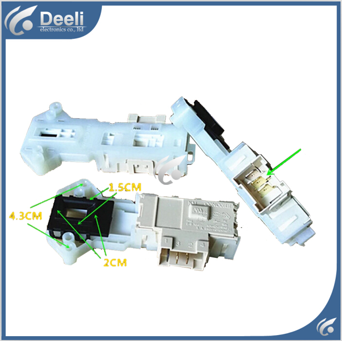 Original for washing machine door switch WD-N80030 WD-T12235D interlock
