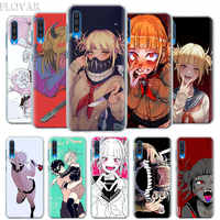 My hero academia Himiko Toga Case Cover for Samsung Galaxy A30 A40 A50 A70 A6 A8 Plus A7 A9 2018 M30 Phone Case Coque