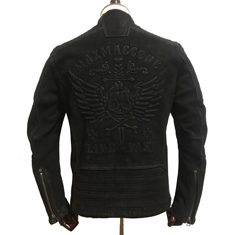 HARLEY-DAMSON-Vintage-Black-Men-Skull-Biker-s-Leather-Jacket-Plus-Size-XXXXL-Genuine-Thick-Cowhide (1)