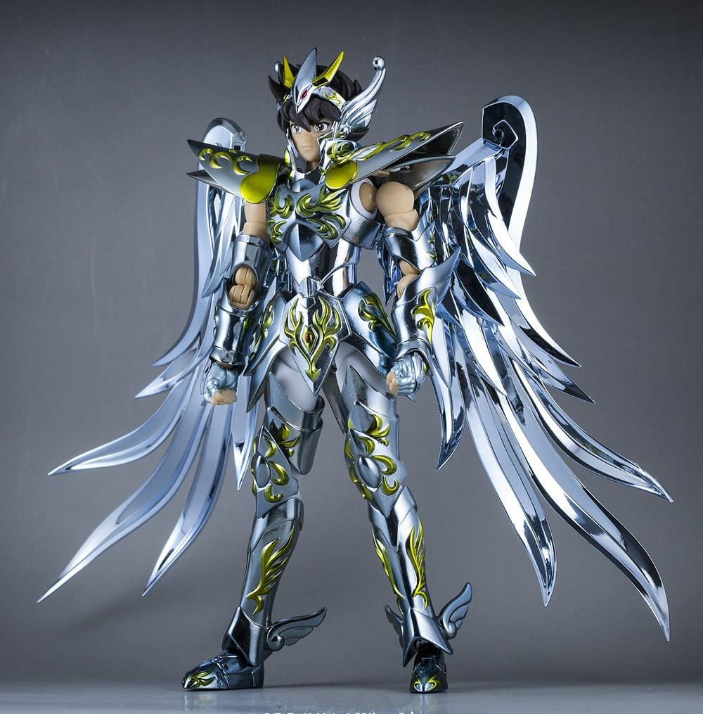 GT Great Toys Saint Seiya Myth Soul of God Gold SOG Gemini Saga with Object