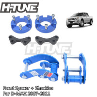 H TUNE 4x4 Accesorios 25mm Front Spacer and Rear Comfort G Shackles Lift Up Kits 4WD For D MAX / Rodeo 2007 2011