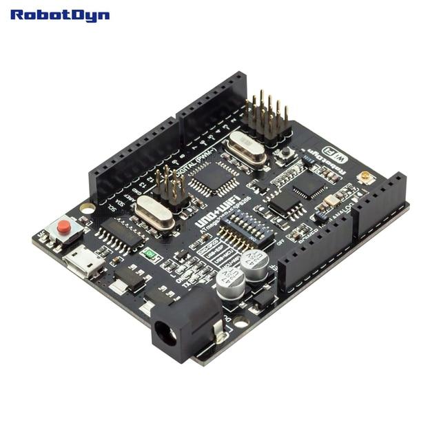 UNO+WiFi R3 ATmega328P+ESP8266 (32Mb memory), USB-TTL CH340G. Compatible for Arduino Uno, NodeMCU, WeMos ESP8266