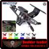 Motorbike Adjustable Angle Aluminum License Number Plate Holder Bracket For YAMAHA MT 07 MT 09 MT