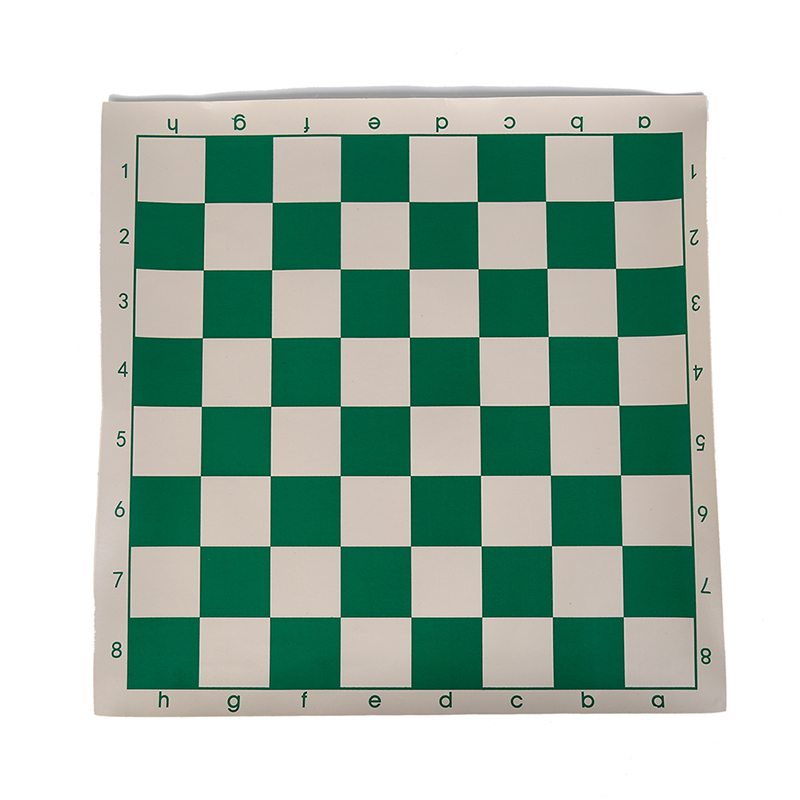 US $2 15 16% OFF|Vinyl Tournament Chess Board for Children's Educational  Games green & white Magnetic Board for Chess P15 34 5cm-in Chess Sets from