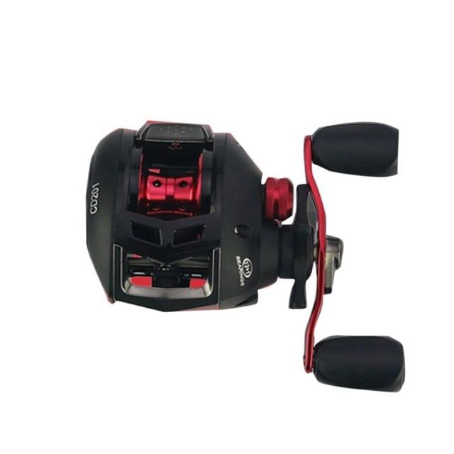 Spinning Carbon Fiber Drag Ultra Light Freshwater Fishing Reel Reelsking 12+1BB CD Spin Plastic with Metal Rocker Arm