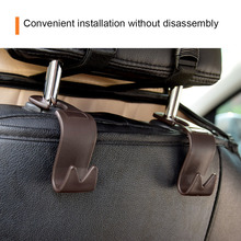 Excellent Car Seat Hook Hanger for Handbags, Purses, Grocery Bags