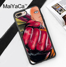 One Punch Man Soft TPU Case for iPhone