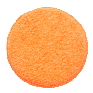 Image 5 - 10 pcs Suave Microfibra Aplicador de Cera Do Carro Almofadas de Polimento Esponja Remover A Cera Detalhamento Wash Limpa Cuidados de Pintura Cor Laranja