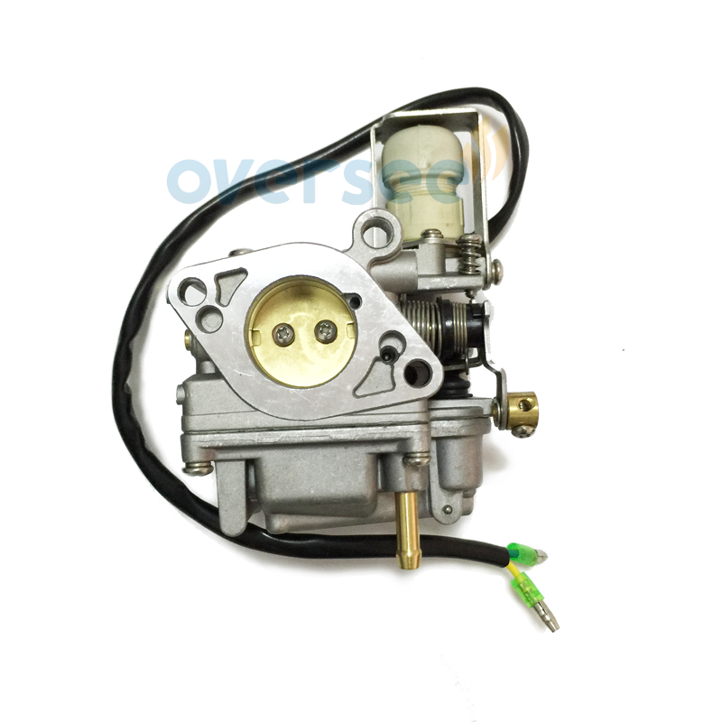 US $55 25 15% OFF|6AH 14301 20 Carburetor For YAMAHA PARSUN HIDEA YAMABISI  4 Stroke 15HP 20HP Outboard Engine F15C F20B-in Boat Engine from