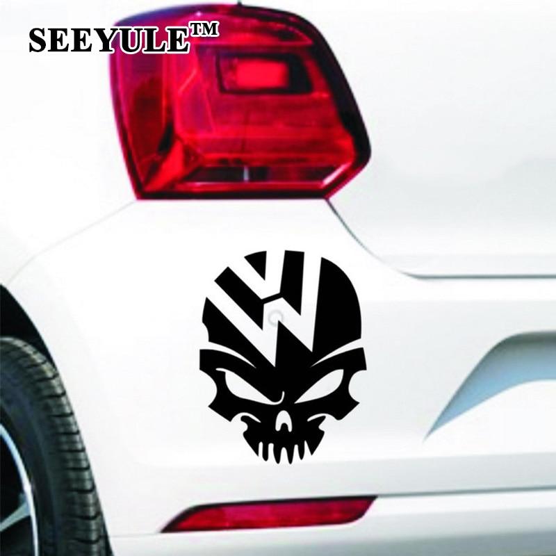 """1vnt. """"SEEYULE"""" vaiduoklių motociklininko kaukolės pašėlęs - Automobilių išoriniai aksesuarai - Nuotrauka 2"""