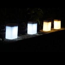 купить Solar Power Outdoor Waterproof  Garden Pathway Stairs Wall Light 2LEDS Yard Path Wall Lamp Energy Saving Emergency Lighting дешево