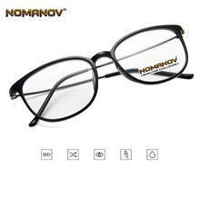 Ultralight Literary Style Retro Square Eyes Frame Classic TREND Spectacles with Optical Lens or Photochromic Gray / Brown Lenses(China)
