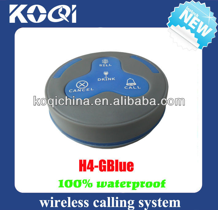 Wireless Paging System Electronic Number Display Order Taker