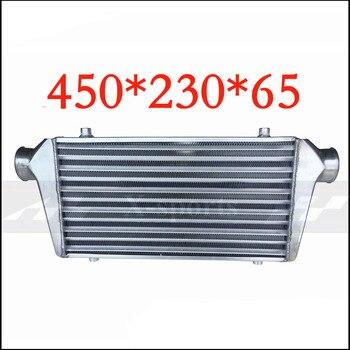Carro turbo radiadores intercooler montagem dianteira universal de alta qualidade corpo núcleo alumínio 450*230*65 apexi