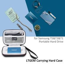 LTGEM etui do Samsung T5 T3 T1 przenośny 250 GB 500 GB 1 TB 2 TB dysk SSD USB 3 0 zewnętrzne dyski półprzewodnikowe tanie tanio