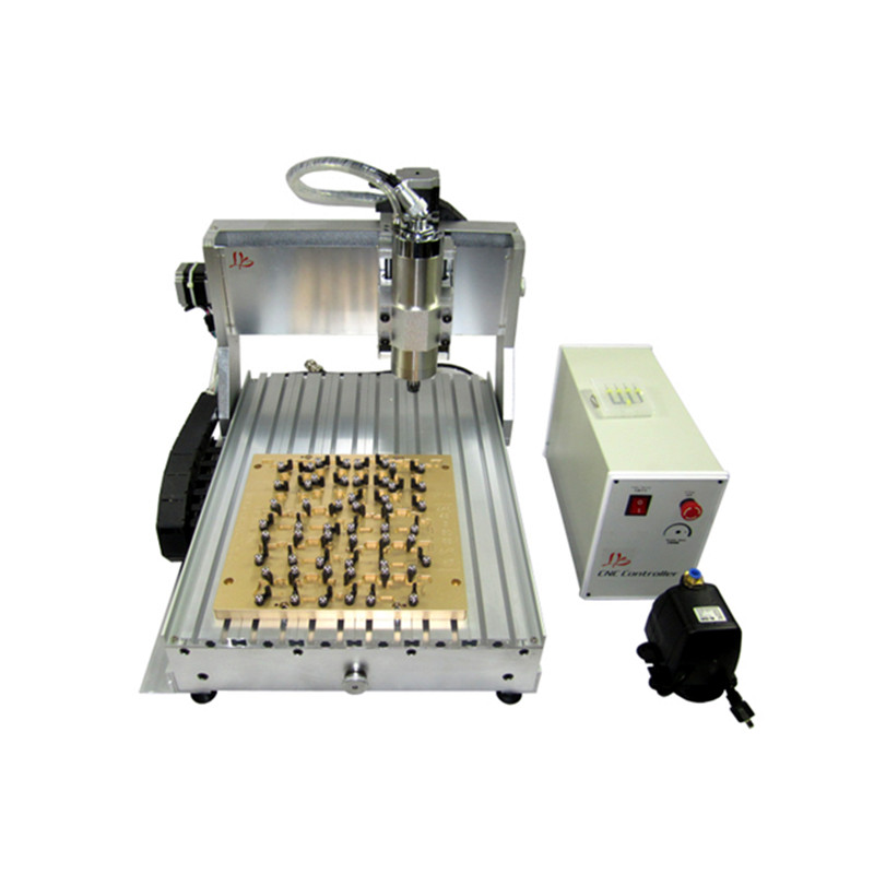 mobile phone chip repair machine IC cnc router 3040 wiht mould 10 in 1 CNC milling polishing engraving in Wood Routers from Tools