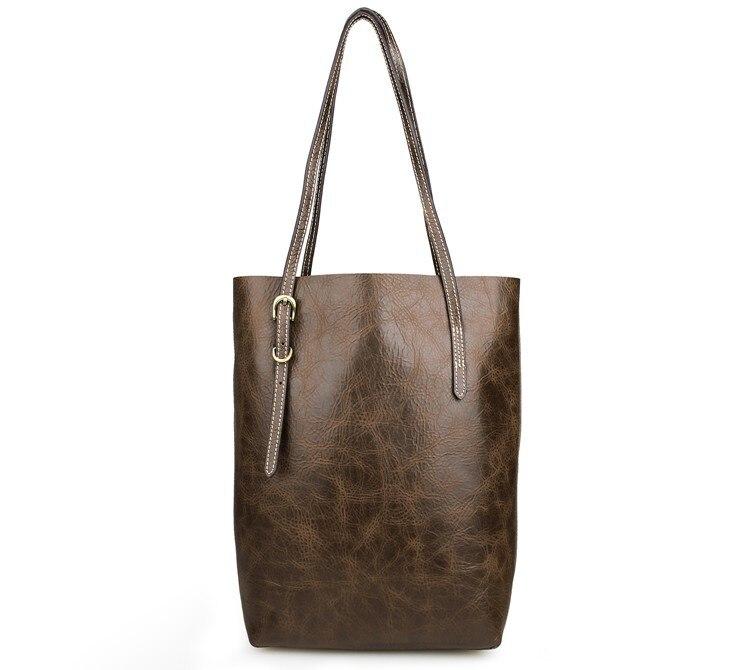 JMD High Quality Real Leather Vintage Women Tote Shoulder Bag Shopping Bag 7271C jmd 100% guarantee genuine vintage leather women s tote shoulder bag for shopping 7271c