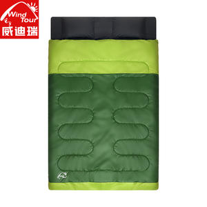 d3d16d0e8 Cotton Filling 3 kg 2 Person Double Sleeping Bag Sac De Couchage 4 Season  Use Comfortable